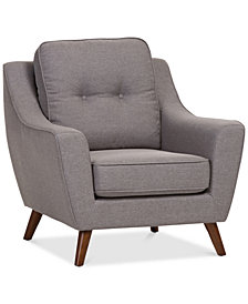 Levena Upholstered Armchair, Quick Ship