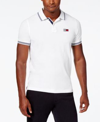 Tommy Hilfiger Polo T Shirt for Men  Custom Fit Short Sleeve Polo