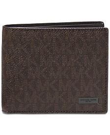 Michael Kors Men's Jet Set Billfold Wallet With Passcase