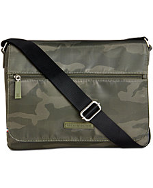 Tommy Hilfiger Men's Camo Messenger Bag