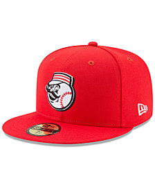 New Era Boys' Cincinnati Reds Players Weekend 59FIFTY Fitted Cap