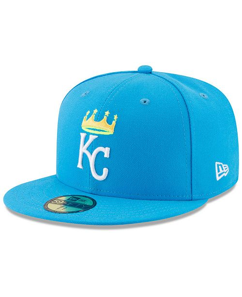 outlet store cb5c7 afec1 ... Cap  New Era Boys  Kansas City Royals Players Weekend 59FIFTY Fitted ...