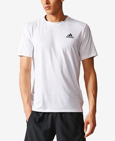 adidas Men's Advantage ClimaLite® Printed Tennis T-Shirt