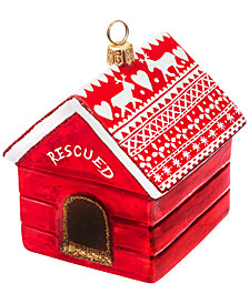 Joy to the World Diva Dog Rescued Ornament