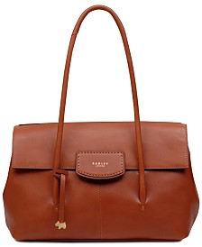 Radley London Burnham Beeches Flap Leather Shoulder Bag