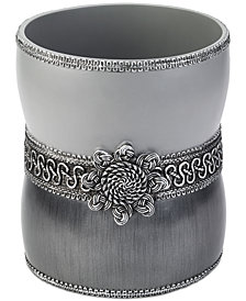 Avanti Braided Medallion Granite Wastebasket
