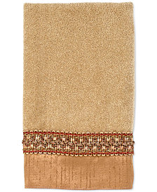 "Avanti ""Braided Cuff"" Fingertip Towel, 11x18"""