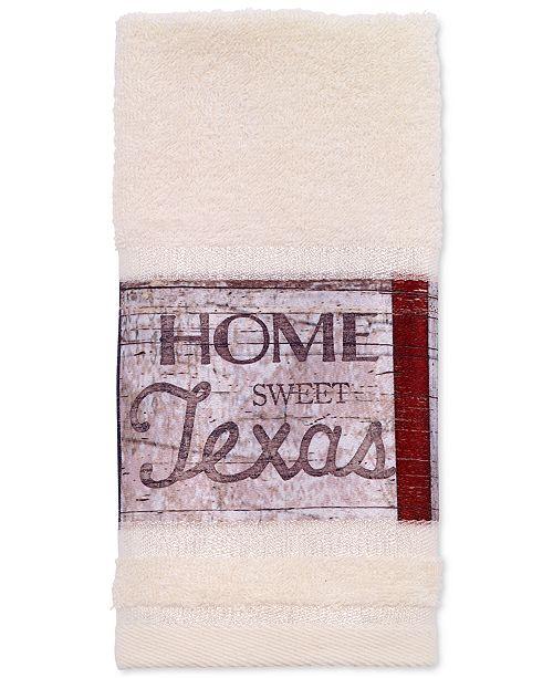 Avanti Home Sweet Texas Fingertip Towel