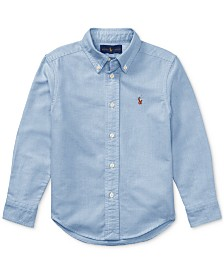 Polo Ralph Lauren Little Boys Blake Oxford Shirt