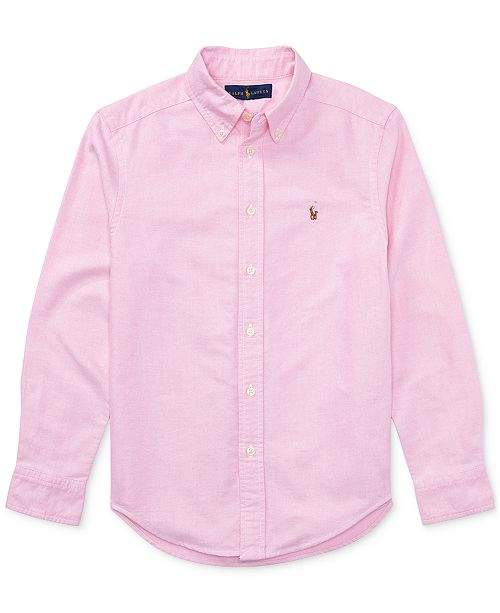 Polo Ralph Lauren Big Boys Blake Oxford Shirt - Shirts   Tees - Kids ... fc0f61ed2880