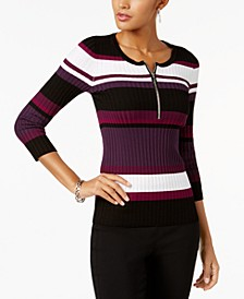 INC Striped Sweater, Created for Macy's