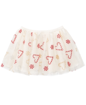Epic Threads Mix and Match Candy Cane Hearts Skirt Little Girls (46X) Created for Macys