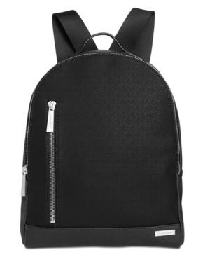 Calvin Klein Men's Saffiano Leather Backpack