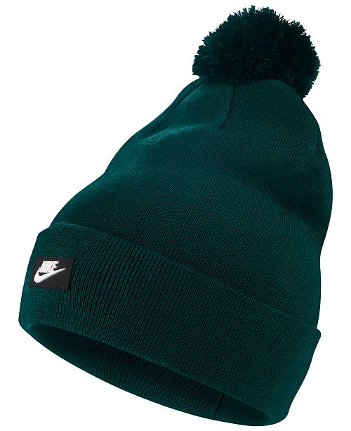 73c58ddeb5f Nike Sportswear Removable Pom Beanie Hats Gloves Scarves