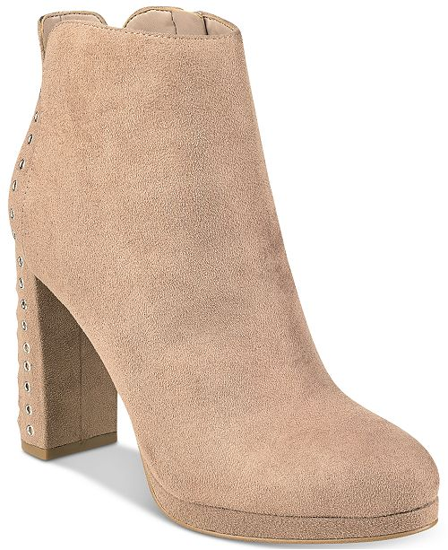 uk store unique design great fit GUESS Women's Beverly Platform Ankle Booties & Reviews - Boots ...