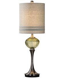 Uttermost Ivalyn Emerald Green Glass Lamp