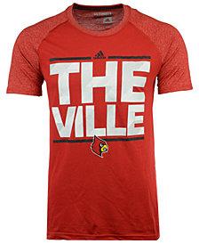 adidas Men's Louisville Cardinals Dassler City Nickname T-Shirt
