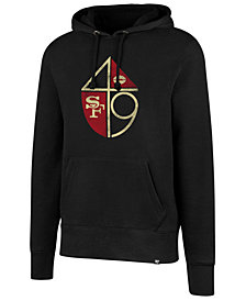 '47 Brand Men's San Francisco 49ers Retro Knockaround Hoodie