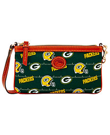Dooney & Bourke Green Bay Packers Nylon Wristlet