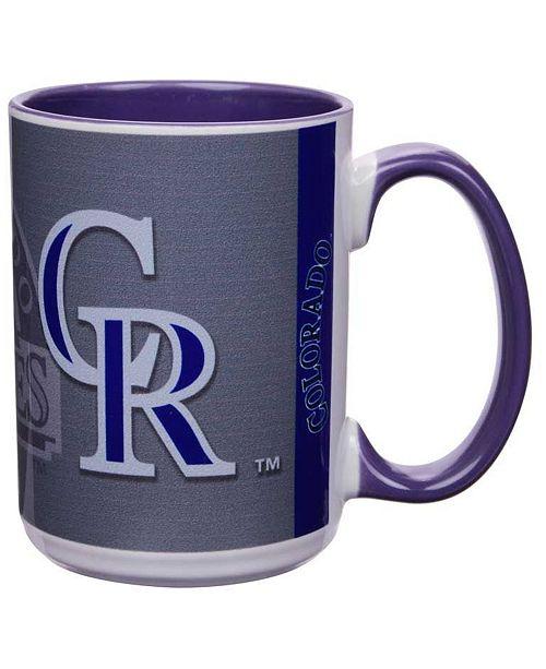 Memory Company Colorado Rockies 15oz Super Fan Inner Color Mug