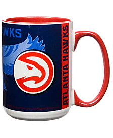 Atlanta Hawks 15oz Super Fan Inner Color Mug