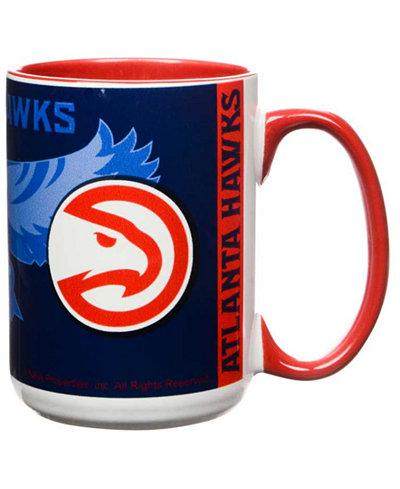 Atlanta Hawks 15oz Super Fan Inner Color Mug