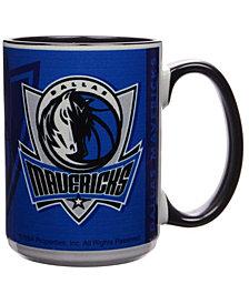 Dallas Mavericks 15oz Super Fan Inner Color Mug