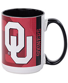 Oklahoma Sooners 15oz Super Fan Inner Color Mug