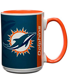 Miami Dolphins 15oz Super Fan Inner Color Mug