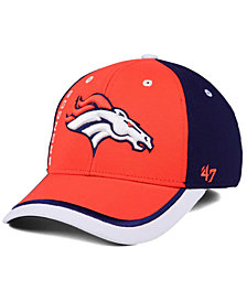 '47 Brand Denver Broncos Crash Line Contender Flex Cap