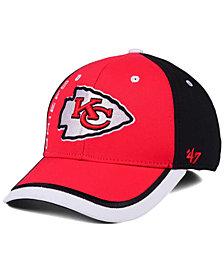 '47 Brand Kansas City Chiefs Crash Line Contender Flex Cap