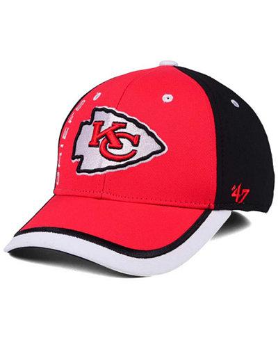 '47 Brand Kansas City Chiefs Crash Line Contender Flex Cap