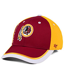 995eb3b8be3  47 Brand Washington Redskins Crash Line Contender Flex Cap.