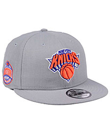 New Era New York Knicks Gray Pop 9FIFTY Snapback Cap
