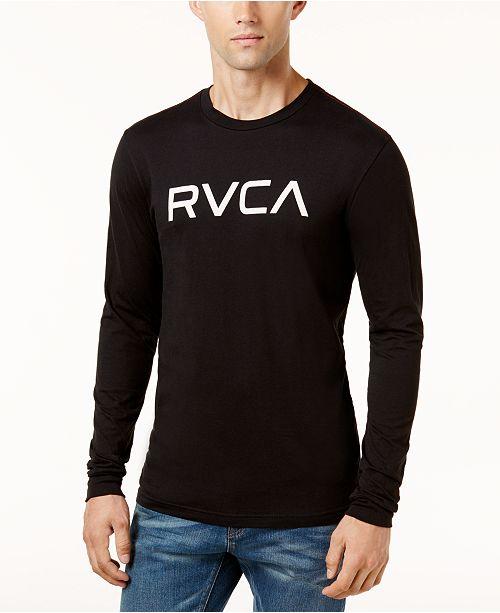 RVCA Men's BIG Logo Shirt