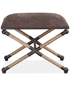 Evert Accent Stool, Quick Ship