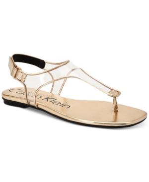 Calvin Klein  WOMEN'S SHILO SANDALS WOMEN'S SHOES