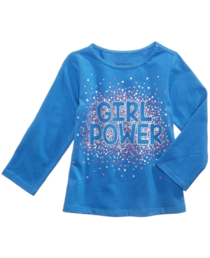 First Impressions Girl Power LongSleeve Cotton TShirt Baby Girls (024 months) Created for Macys