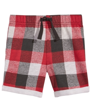 First Impressions Plaid Shorts Baby Boys (024 months) Created for Macys