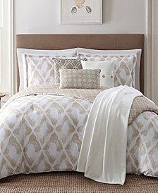 Jennifer Adams Home Kennedy Reversible 7-Pc. Geo-Print Comforter Sets