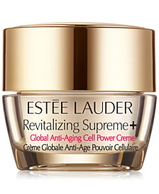 Free deluxe Revitalizing Supreme moisturizer with $75 Estee Lauder purchase