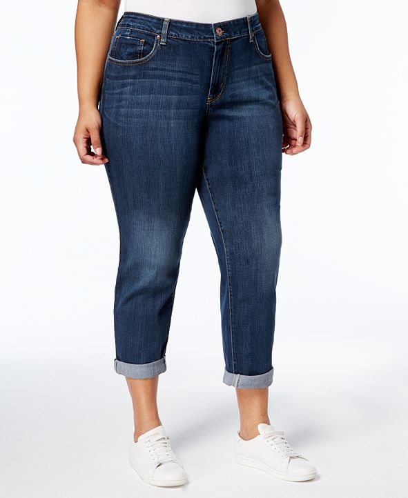 Jessica Simpson Trendy Plus Size Mika Best Friend Skinny Jeans