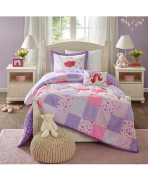 Mi Zone Kids Twirling Tutu 4Pc FullQueen Comforter Set Bedding