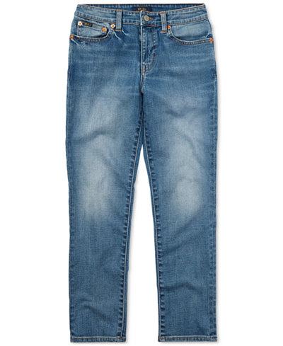 ralph lauren indigo dyed skinny jeans big boys 8 20 - Ralph Lauren Indigo