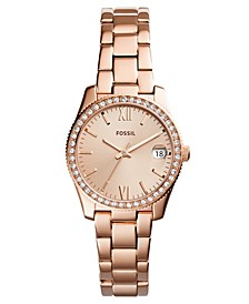 Women's Scarlette Rose Gold-Tone Stainless Steel Bracelet Watch 32mm