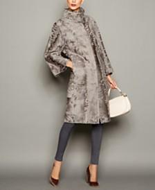 The Fur Vault Persian Lamb Fur Coat
