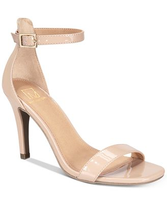 Material Girl Blaire Two-Piece Dress Sandals, Created for Macy's ...
