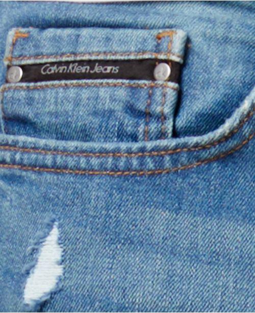 4e6dbfa2 Calvin Klein Jeans Men's Stretch Saturn Blue Skinny Jeans & Reviews ...