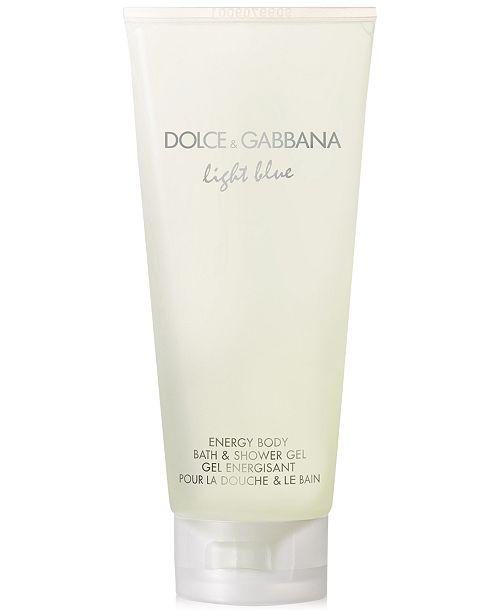 e1af3214e84f ... Dolce   Gabbana DOLCE GABBANA Light Blue Energy Body Bath   Shower Gel  ...