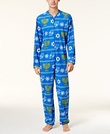 Bioworld Men's Hanukkah Onesie